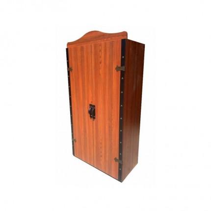 کمد چوبی لباس دو درب وایکینگ