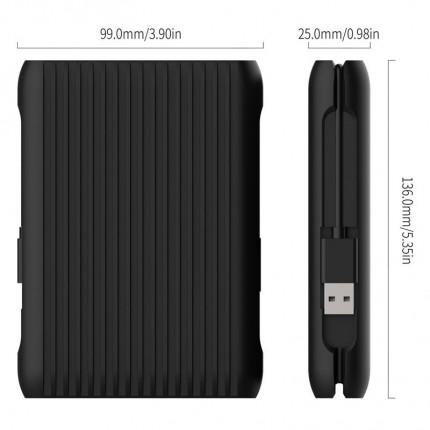هارد اکسترنال USB C Gen2 1TB MS2510