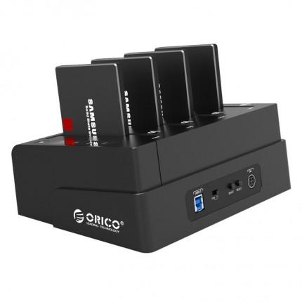 داک SSD چهار تایی 6648US3-C-V1 ORICO