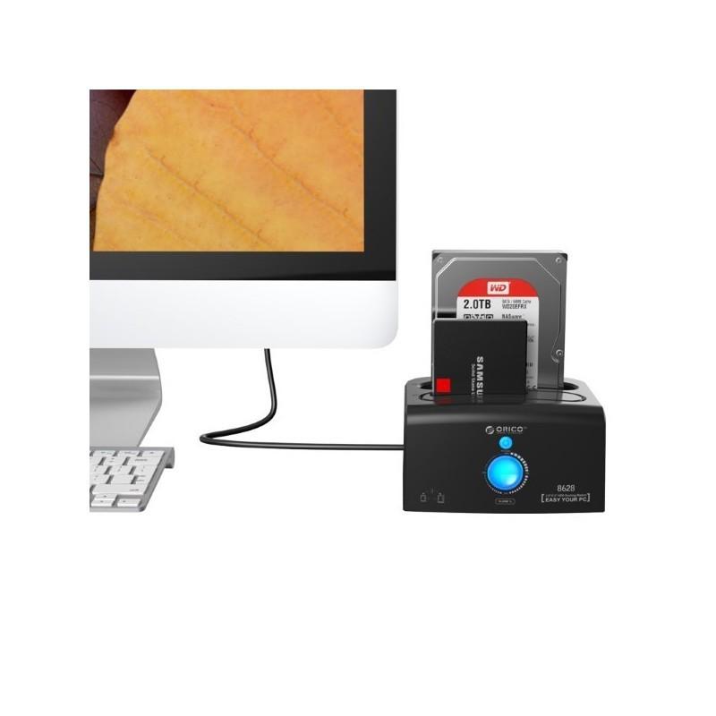 داک هارد SATA 3.0 USB 3.0 اوریکو 6518S3