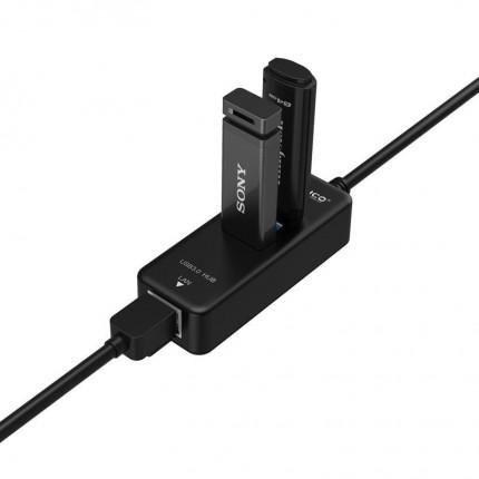 هاب و کارت شبکه HR03-U3 USB 3.0 ORICO