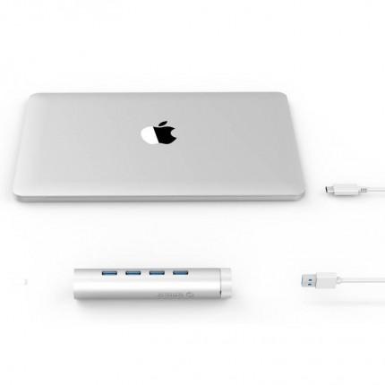 هاب مک بوک مدادی ARH4-U3 USB 3.0 ORICO