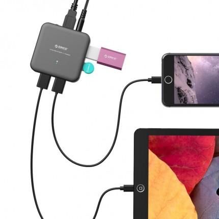هاب 4 پورت U3BCH4 USB 3.0 ORICO