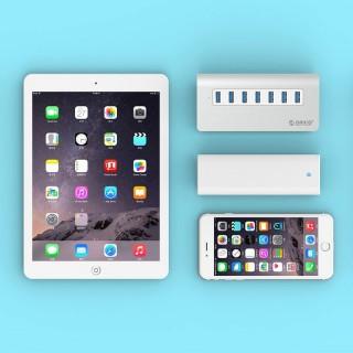 هاب 7 پورت M3H7-V1 USB 3.0 ORICO Apple