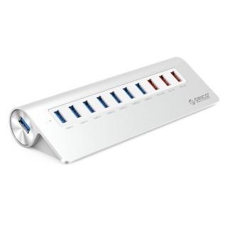 هاب USB3 و شارژر رومیزی M3H73P ORICO