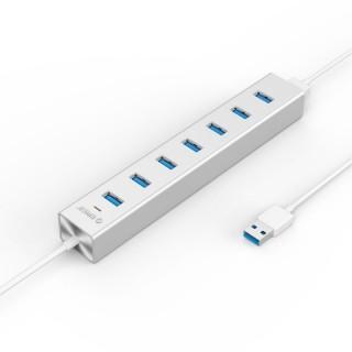 هاب 7 پورت آلومینیومی H7013-U3-SV USB 3.0 ORICO