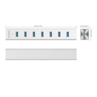 هاب 7 پورت H7013-U3-SV USB 3.0 ORICO