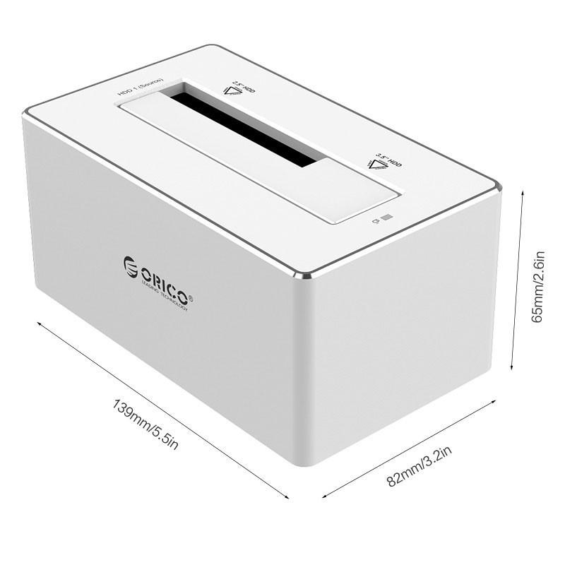 داک هارد آلومینیومی ORICO USB 3.0 6828US3-C