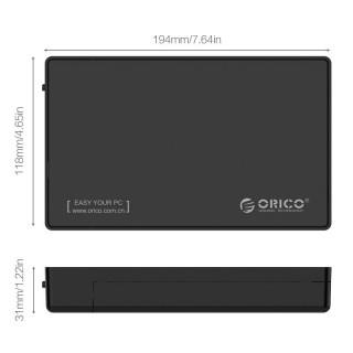 باکس هارد 3.5 اینچی 3588C3 Type-C ORICO