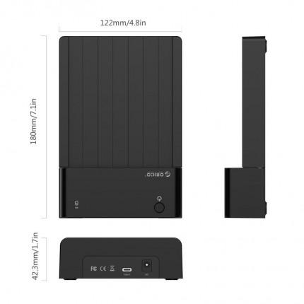 داک 6518C3 USB 3.1 Type-C ORICO