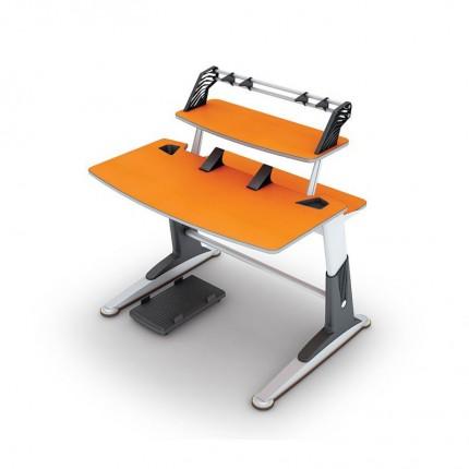 میز چند منظوره تحریر و کامپیوتر نارنجی