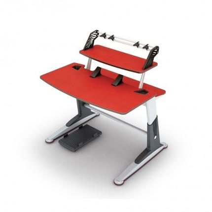 میز چند منظوره تحریر و کامپیوتر قرمز