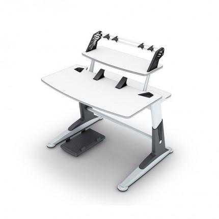 میز چند منظوره تحریر و کامپیوتر سفید