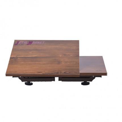 میز لپ تاپ تاشو چوبی
