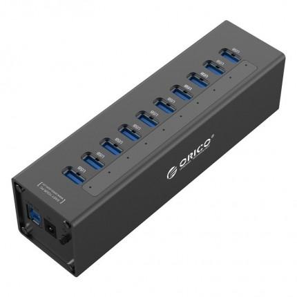 هاب USB 3.0 فلزی 10 پورت A3H10 ORICO