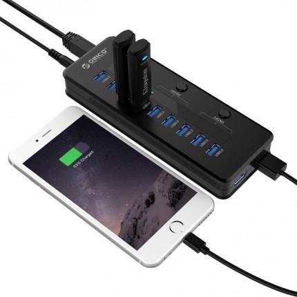 هاب H10C1-U3 USB 3.0 ORICO