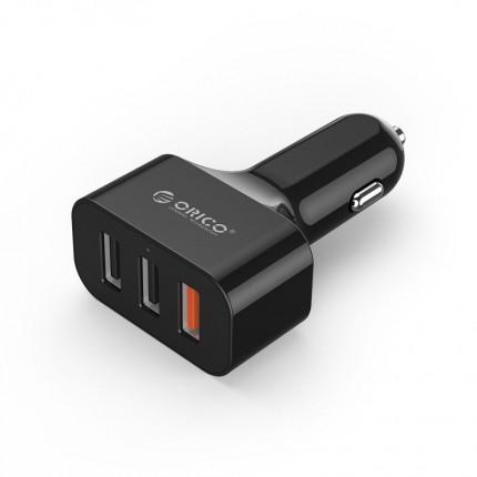 شارژر فندکی سریع QC3.0 UCH-Q3