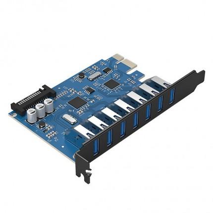 کارت PCI Express USB 3.0 PVU3-7U