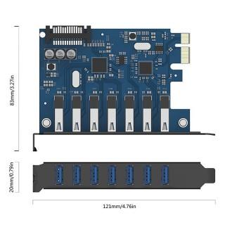 کارت USB 3.0 PVU3-7U ORICO
