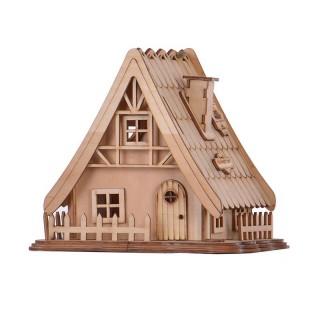دکوری چوبی کلبه بالسا