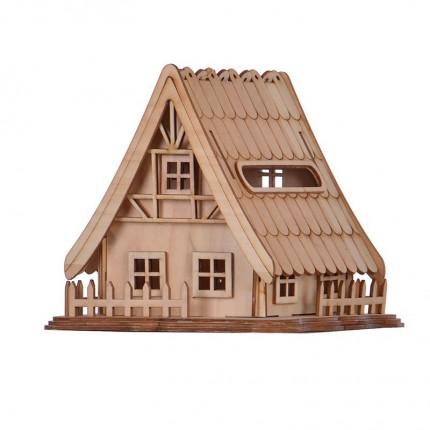 کلبه چوبی بزرگ بالسا