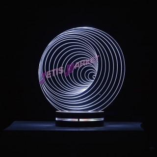 چراغ خواب سه بعدی هروس