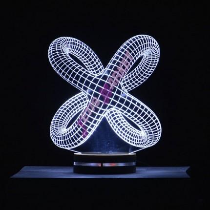 چراغ خواب سه بعدی شبدر