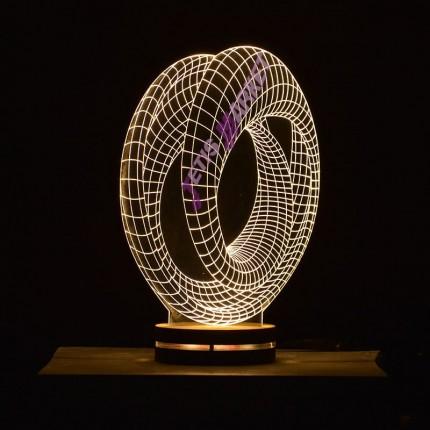 چراغ خواب 3D ویژن
