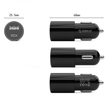 شارژر فندکی USB C UCF-2U ORICO
