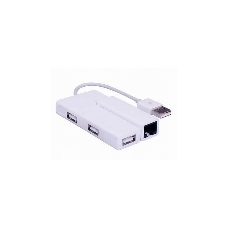 هاب و کارت شبکه USB 2.0 فرانت