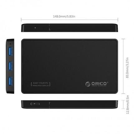 باکس هارد 2.5 اینچی با هاب 2588H3 ORICO