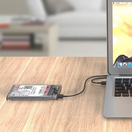 باکس شفاف 2.5 اینچی 2139U3 USB 3.0