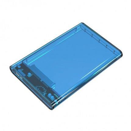 باکس شفاف 2.5 اینچی 2139U3 USB 3.0 آبی