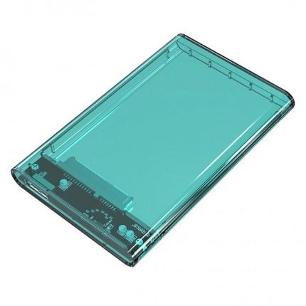 باکس شفاف 2.5 اینچی 2139U3 USB 3.0 سبز