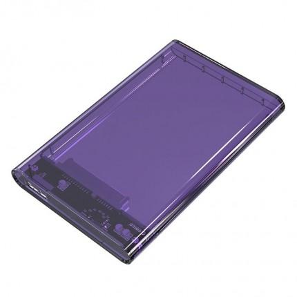 باکس شفاف 2.5 اینچی 2139U3 USB 3.0 بنفش