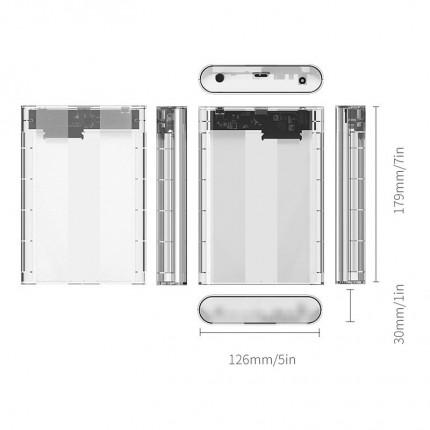 باکس شفاف 3.5 اینچی اوریکو 3139U3 USB 3.0