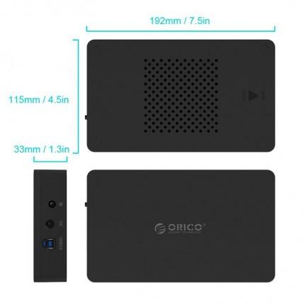 باکس هارد 3.5 اینچی اوریکو 3569S3 USB 3.0