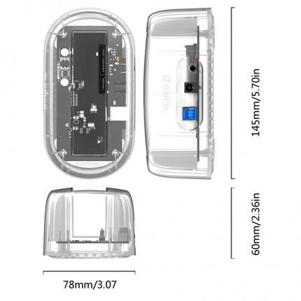 داک شفاف اوریکو 6139U3 USB 3.0