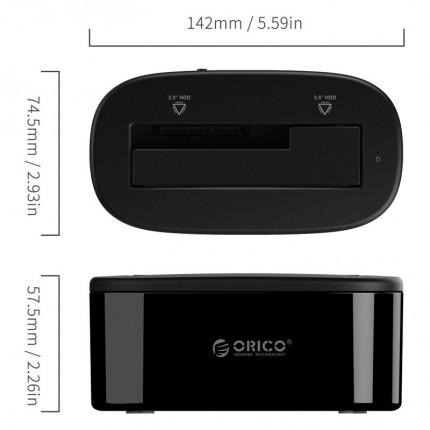 داک هارد 6218US3 USB 3.0 ORICO