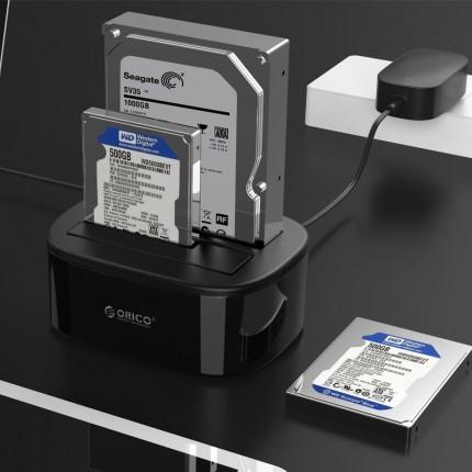 داک 2 تایی 6228US3-C USB 3.0 ORICO