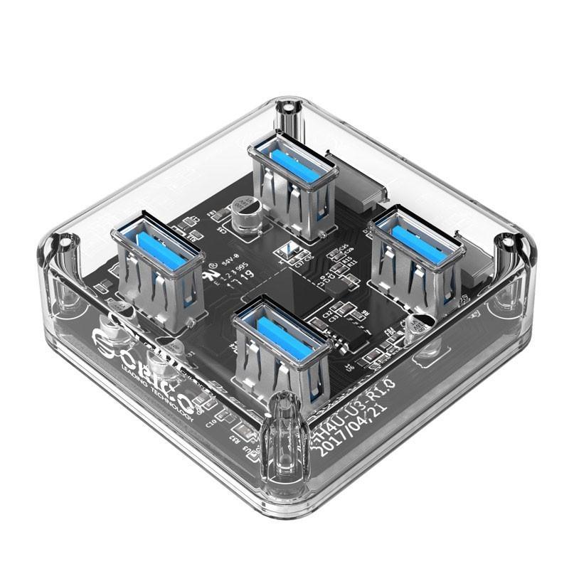 هاب USB3.0 شفاف MH4U-U3 ORICO