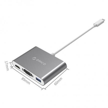 تبدیل چند کاره USB C RCHV ORICO