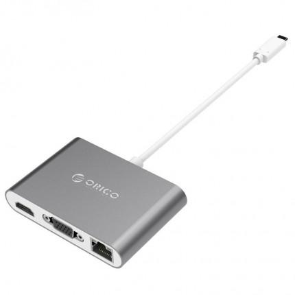 تبدیل USB C چند کاره اوریکو RCNB
