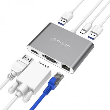 تبدیل چند کاره USB C RCNB ORICO