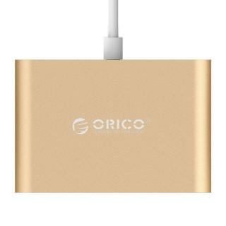 هاب 3 پورت USB C RC3A ORICO طلایی