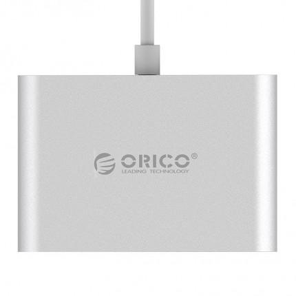 هاب 3 پورت USB C RC3A ORICO نقره ای