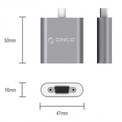 تبدیل USB Type C به VGA اوریکو RCV
