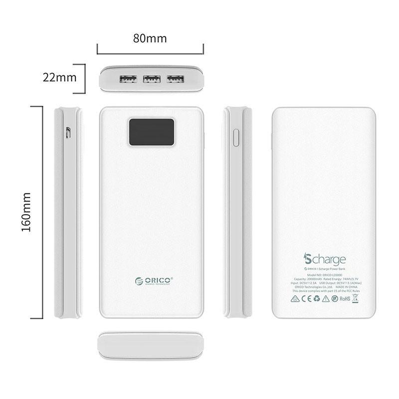 باکس هارد 2.5 اینچی ORICO 2569S3 USB 3.0