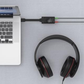 کارت صدا اکسترنال لپ تاپ USB SC1 ORICO