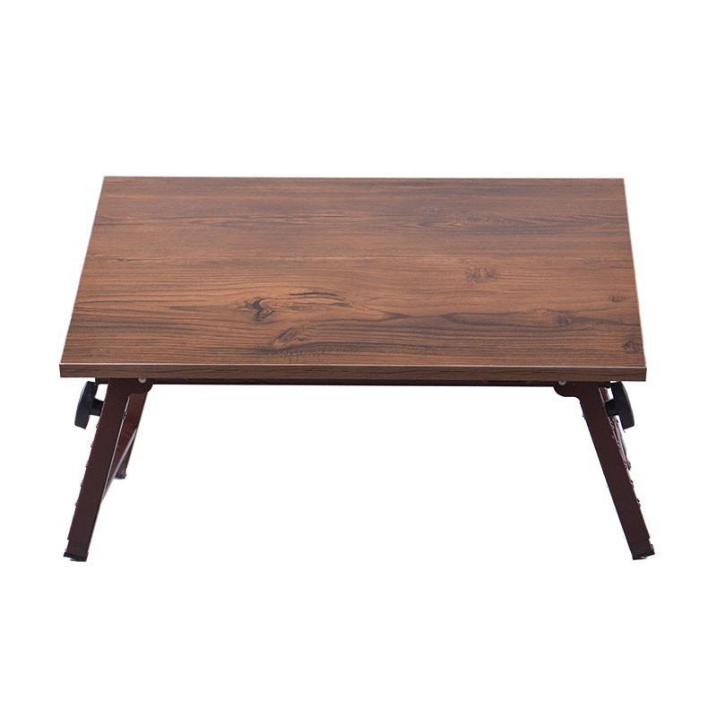 میز تحریر نشسته تاشو چوبی